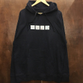 theories pullover hood alone again NAVY
