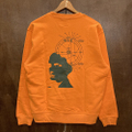 KAONKA light weight crewneck agartha ORANGE/DARK.TEAL