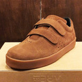 AREth shoe I velcro BROWN/GUM