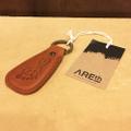 AREth keychain shoe hone keying BROWN