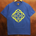 satori cotton tee big link BLUE