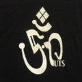 5nuts tee 19FW ON logo BLACK/WHITE