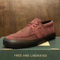 state shoe vista x Christian Maalouf BLACK.CHERRY/BLACK suede