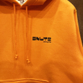 5nuts pullover hood pintless ORG/BLK