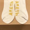 AREth socks middle sox JAHI logo WHITE