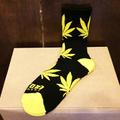 satori socks canna crew BLACK/YELLOW