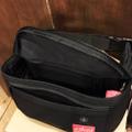 theories x manhattan portage bag alleycat waist bag BLACK