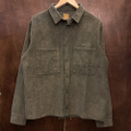 WKND jacket major cord button up FOREST.GREEN