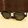 glassy sunglass p-rod premium MATT.BLACK/GREEN.LENS POLARIZED