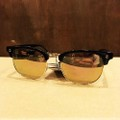 glassy sunglass morrison BLACK/ROSE.GOLD/PINK.MIRROR