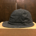 remilla hat oval cord帽 GRY