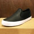 state shoe keys x Ben Gore BLACK/WHITE full grain leather