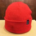 WKND beanie classic cuff RED