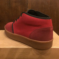 AREth shoe bulit DARK.RED