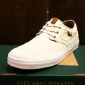 state shoe bishop CREAM/WHITE canvas