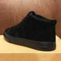 state shoe harlem up town BLACK/BLACK suede