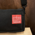 theories x manhattan portage bag night pack BLACK
