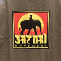 satori cotton tee elephant OLIVE