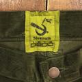 5nuts pants uniform corduroy standerd shape DARK.OLIVE