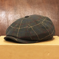 brixton cap brood baggy snap cap MOSS