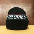 theories beanie stamp DARK.NAVY