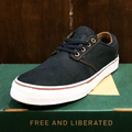 state shoe elgin NAVY/WHITE