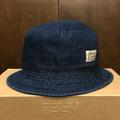 color communications hat cotton tag bucket BLUE.DENIM