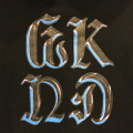 WKND pullover hood chrome on BLACK