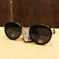 glassy sunglass lincoln premium BLACK/GOLD POLARIZED