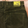 5nuts pants uniform corduroy standerd shape DARK.OLIVE