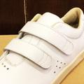 AREth shoe I velcro WHITE leather