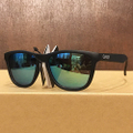 glassy sunglass deric MATT.BLACK/GOLD.MIRROR
