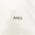 AREth tee 2020 SUMMER stamp WHITE/SILVER