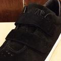 AREth shoe I velcro BLACK 17FW