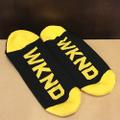 WKND socks stripe BLACK