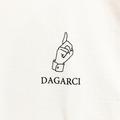 DAGARCI tee simbol WHITE