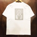 AREth tee 2020 SUMMER stamp WHITE/SILVER
