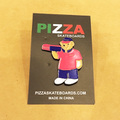 PIZZA pins bear