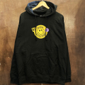 PICTURE SHOW pullover hood be kind BLACK