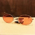 glassy sunglass stark GOLD/RED.LENS