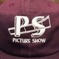 PICTURE SHOW cap studio snapback hat WINE