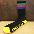 WKND socks stripe BLACK