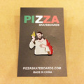 PIZZA pin badge last supper