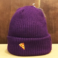 PIZZA beanie emoji PURPLE