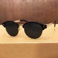 glassy sunglass paul plus BLACK/GOLD POLARIZED