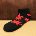 satori socks canna ankle BLACK/RED