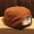 theories cap hands of theories strap back CINNAMON/GOLD