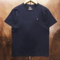 AREth tee 2020 SUMMER logo NAVY/WHITE
