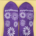 GUYDANCE socks sun PURPLE