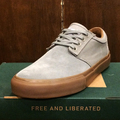 state shoe elgin MID.GREY/GUM